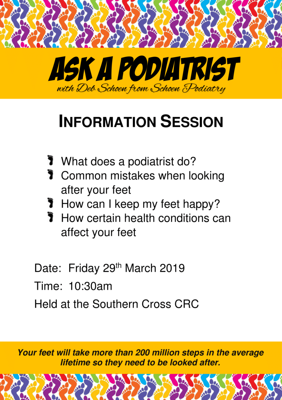 Ask a podiatrist info session