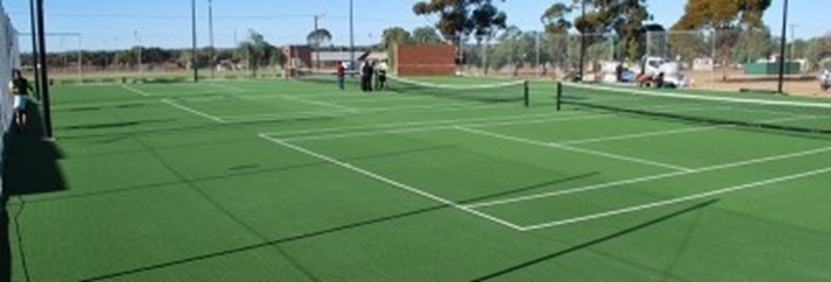 Sporting Clubs - Yilgarn Tennis Club Courts